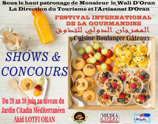 FESTIVAL INTERNATIONAL DE LA GOURMANDISE  المهرجان الدولي للتذوق